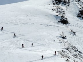 Image of Skitouring in Adyrsu and Adylsu, Caucasus Mountains