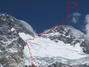 Image of North-West Face, Broad Peak (8 051 m / 26 414 ft)