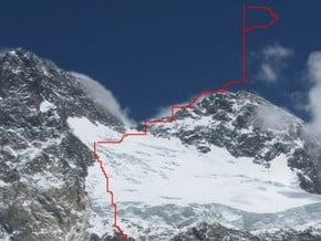 Image of North-West Face, Broad Peak (8 051 m / 26 414 ft)