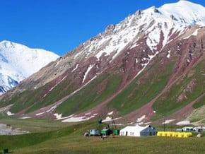 Image of Peak Lenin Base Camp, Pamir Mountains