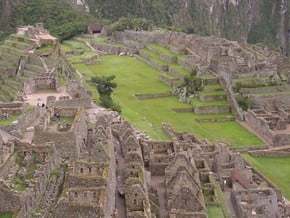 Image of Machu Picchu, Andes