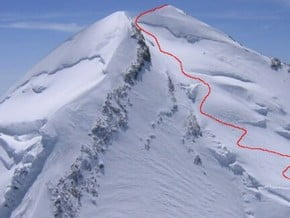 Image of Normal Route, Castor (4 228 m / 13 871 ft)