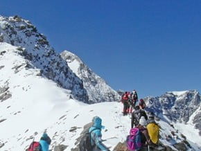 Image of Normal Route, Sulden Spitze (3 376 m / 11 076 ft)