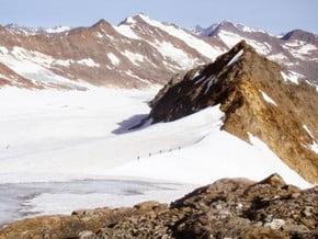 Image of Annakogl from Hochwilde Haus, Annakogl (3 336 m / 10 945 ft)