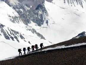 Image of Polish Variation, Aconcagua (6 962 m / 22 831 ft)