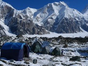 Image of South-West Face, Khan Tengri (7 010 m / 22 999 ft)