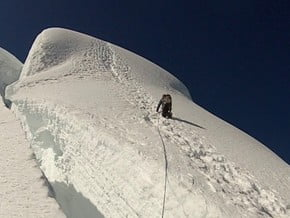 Image of Normal Route, Tocllaraju (6 038 m / 19 810 ft)