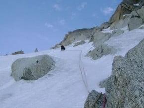Image of Aureille Feutren Gully, Aiguille du Chardonnet (3 824 m / 12 546 ft)