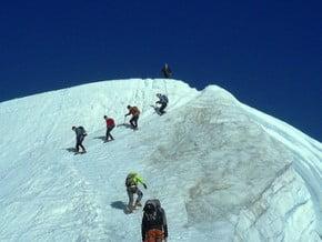 Image of North-West Face, Bishorn (4 153 m / 13 625 ft)
