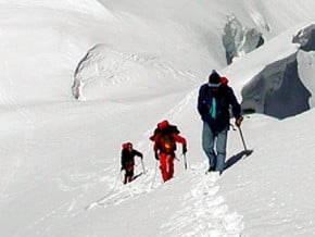 Image of Normal Route, Breithorn (4 164 m / 13 661 ft)
