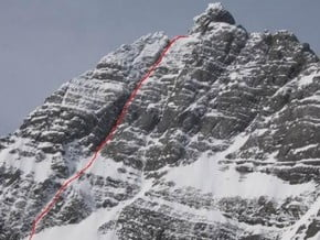Image of New Route, Mount Sir Douglas (3 411 m / 11 191 ft)
