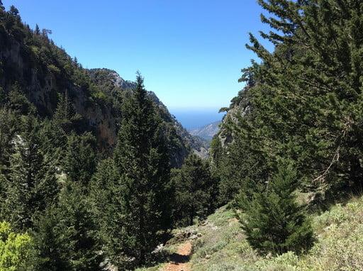 Loop tour of Samaria Fygou and Agia Irini gorge