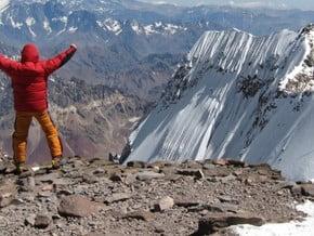 Image of Polish Traverse, Aconcagua (6 962 m / 22 831 ft)