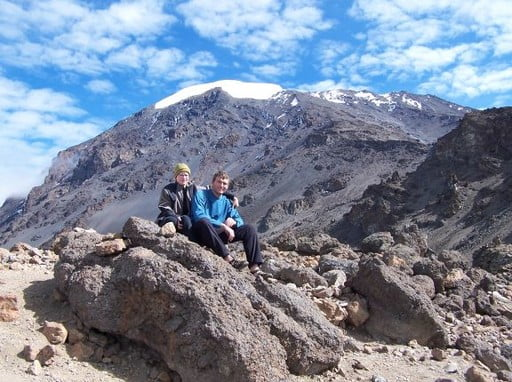 Mount Kilimanjaro climbing success summit Machame 7 days