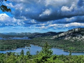 Image of La Cloche Silhouette Trail, North American Cordillera
