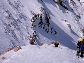 Image of Sandy Glacier Headwall, Mount Hood (3 429 m / 11 250 ft)
