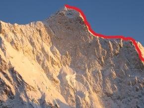 Image of West Ridge, Kumbhakarna (7 711 m / 25 299 ft)