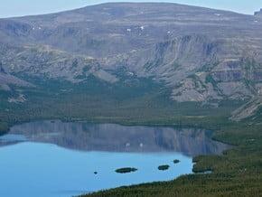 Image of Lovozersk's tundra, Scandinavian Mountains