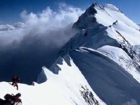 Image of via North Ridge, Peak Pobeda (7 439 m / 24 406 ft)