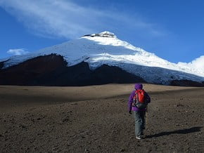 Image of Southwest Route, Cotopaxi (5 897 m / 19 347 ft)