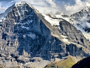 Image of Eiger (3 970 m / 13 025 ft)
