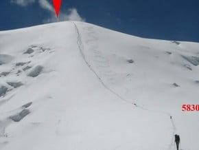 Image of Normal Route, Razdelnaya (6 143 m / 20 154 ft)