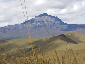 Image of Normal route, Corazón (4 790 m / 15 715 ft)
