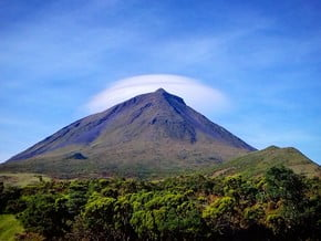 Image of Mount Pico Official Trail, Mount Pico, Azores (2 351 m / 7 713 ft)