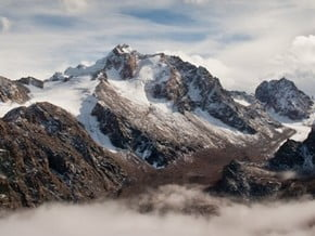 Image of Normal Route, Peak Nursultan (4 330 m / 14 206 ft)