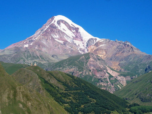 Mount Kazbek (5033m) guided ascent