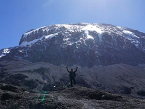 Image of Machame route 7 days, Kilimanjaro hiking, Great African Rift Valley