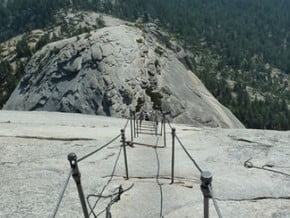 Image of Cables Route, Half Dome (2 690 m / 8 825 ft)