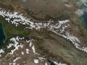 Image of Caucasus Mountains