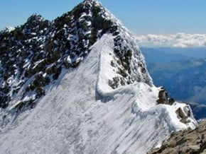 Image of Spalla Ridge, Piz Bernina (4 049 m / 13 284 ft)
