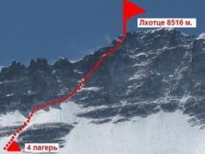 Image of North-West Face, Lhotse (8 516 m / 27 940 ft)