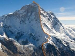 Image of West Ridge, Makalu (8 485 m / 27 838 ft)