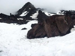 Image of Avalanche Gulch, Mount Saint Helens (2 550 m / 6 818 ft)