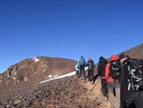 Image of Ouanoukrim (4 080 m / 13 386 ft)