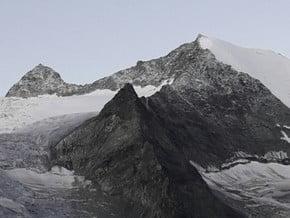 Image of normal route, Dent des Rosses (3 613 m / 11 854 ft)