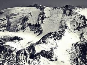 Image of Normal, Cerro Plomo (5 424 m / 17 795 ft)