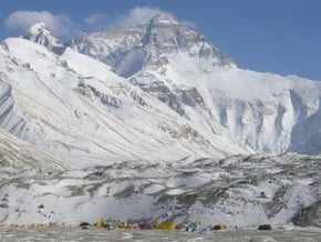 Image of via North Col, Everest (8 848 m / 29 029 ft)