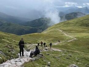 Image of Carn Mor Dearg, Ben Nevis (1 344 m / 4 409 ft)