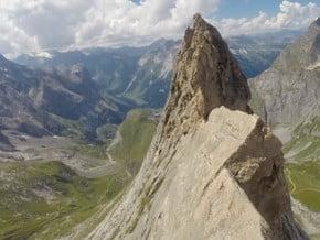 Image of Traverse de lAiguille de la Vanoise, Aiguille de la Vanoise (2 796 m / 9 173 ft)