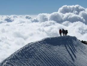 Image of Traverse, Weissmies (4 017 m / 13 179 ft)