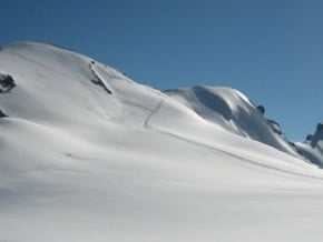 Image of Breithorn, normal route, Breithorn Zwillinge (4 139 m / 13 579 ft)