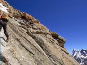 Image of South-West Face, Aiguille du Midi (3 842 m / 12 605 ft)