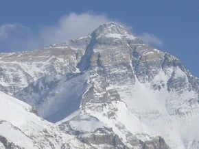 Image of Everest (8 848 m / 29 029 ft)
