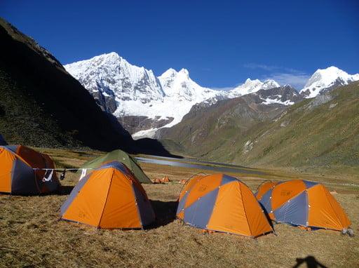 Touching The Void Trekking Cordillera Huayhuash Peru