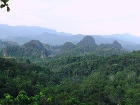 Image of The Bukit Barisan, Barisan Mountains and Malay Archipelago