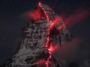 Image of Swiss Normal Route, Matterhorn (4 478 m / 14 692 ft)